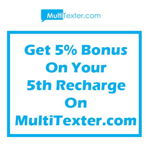bulk sms bonus